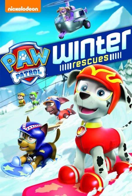 Paw Patrol Winter Series Zy638 paw patrol winter rescue dvd zoom co uk