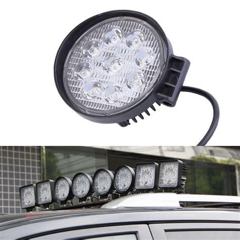 power glow led work light 27w led work light 60 degree high power led offroad light