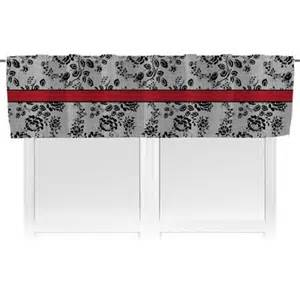 Black Lace Window Valance Black Lace Valance Personalized You Customize It