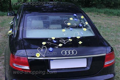 Hochzeitsschmuck Blau by Hochzeitsschmuck F 252 R Auto Gelb Blau G 228 Nsebl 252 Mchen