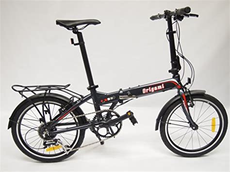 Origami Folding Bike Review - origami crane 8 folding bike fixie cycles