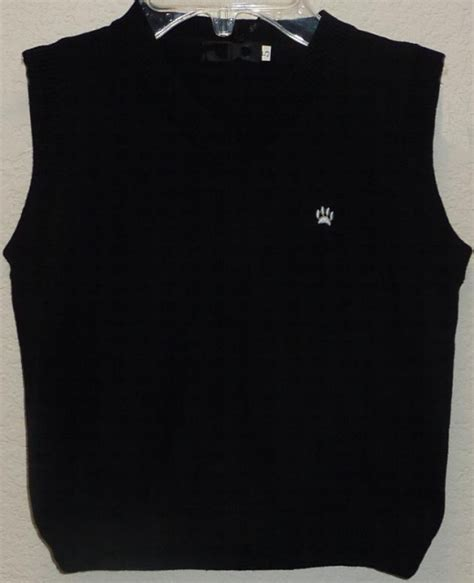 Sweatee Boy Black boys black sweater vest