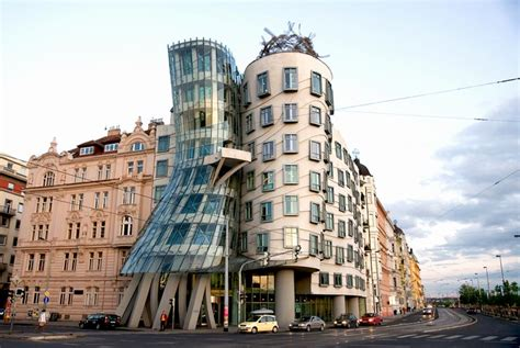frank gehry dancing house someone has built it before
