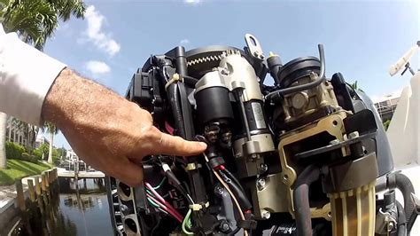 yamaha outboard starter troubleshooting and replacement