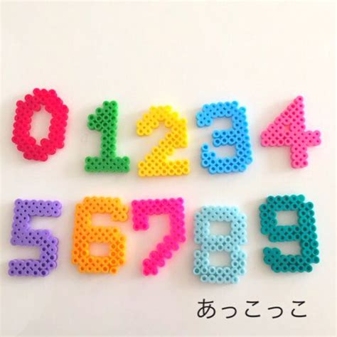 perler bead numbers the world s catalog of ideas