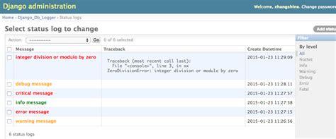 django openid tutorial django db logger 0 1 5 python package index
