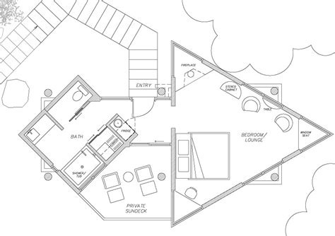 tree house floor plan big sur resorts post ranch inn tree house luxury resorts in california