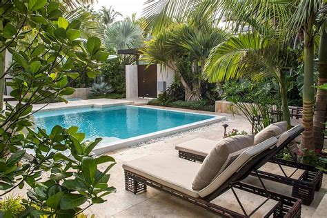 25 Spectacular Tropical Pool Landscaping Ideas Pool Garden Design