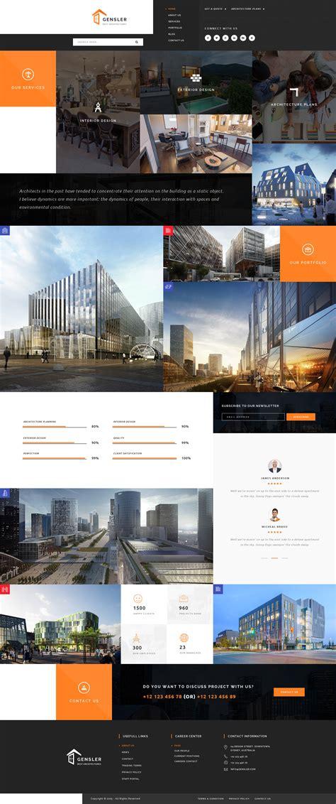 architecture architecture portfolio templates artistic