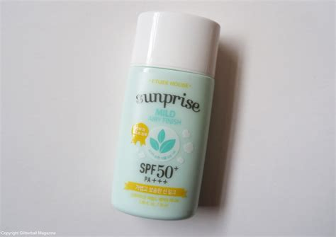 etude house sunprise mild airy finish sun