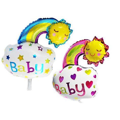 Balon New Baby Keranjang by Balon Foil Baby Boy Baby Rainbow Smile Toko