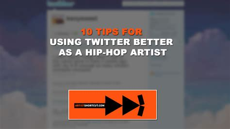 how to better hip hop 10 tips for using better as a hip hop artist