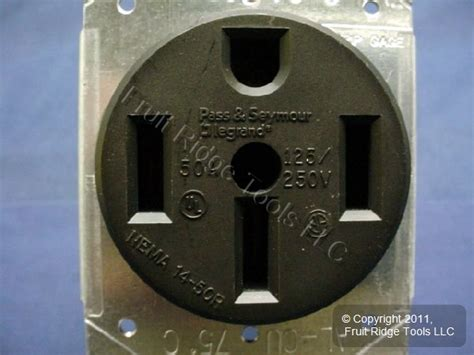 pass seymour range outlet stove oven receptacle      ebay