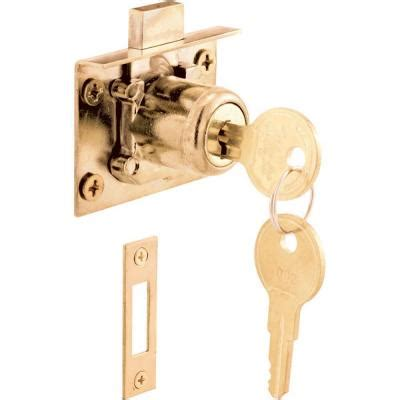 Prime Line Mortise Drawer And Cabinet Lock U 10666 The Home Depot Cabinet Locks