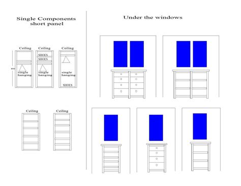 Closet System Components Closet Components Contact Us For A Free Estimate