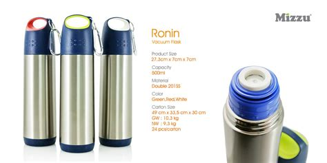 Mizzu Ronin Vacuum Flask 500 Ml ronin termos tumbler grosir souvenir tumbler promosi