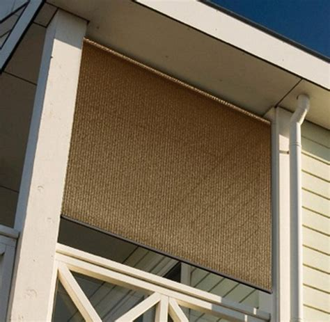 Outdoor Blinds And Shades Patio Privacy Roll Up Vertical Patio Privacy Shades