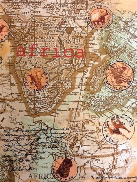africa kenta map compass exploration world travel