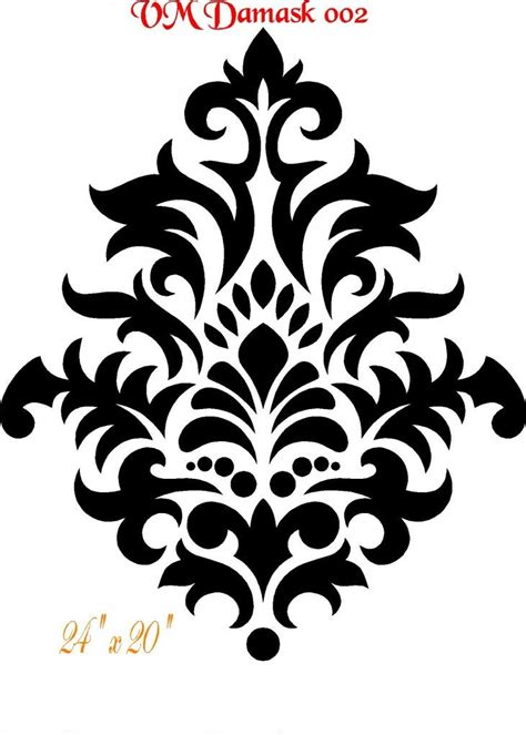 no pattern artist 25 best ideas about damask stencil on pinterest damask