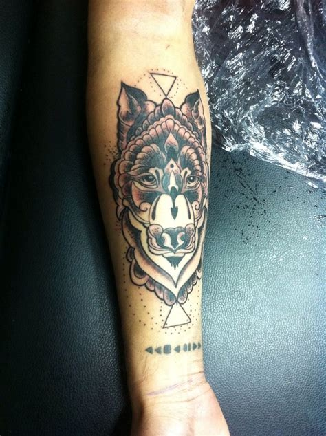 wolf tattoo forearm wolf in forearm tattoos design tatuaje wolf