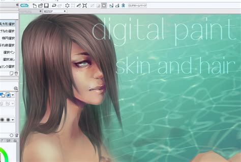 paint tool sai realistic skin tutorial skin and realistic hair tutorial by on deviantart