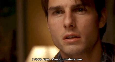 movie quotes you complete me i love you gif find share on giphy