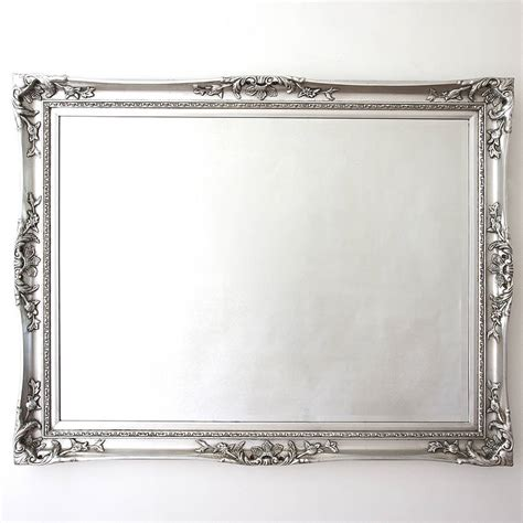 mirror s elegant silver mirror by decorative mirrors online