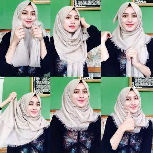 tutorial pashmina ootd 10 tutorial hijab pashmina rawis simple dan modern