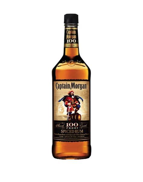 captain morgans spiced rum captain black cask 100 proof spiced rum buy