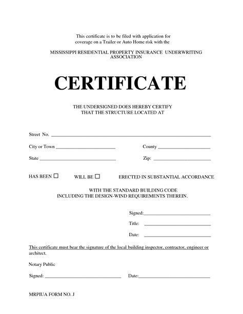 best photos of notary certificate template sle of