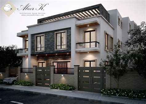 villa exterior design new cairo s villa exterior by kasrawy deviantart com on