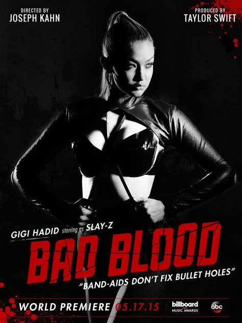 membuat poster bad blood taylor swift enlists famous friends lena dunham hailee