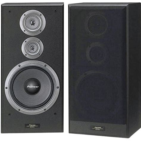 pioneer cs 7070 bookshelf speaker black 190 w 35 up to