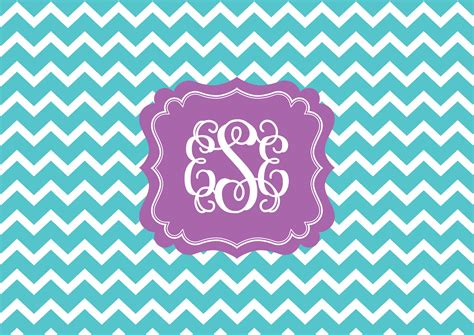 computer wallpaper monogram chevron monogram wallpaper allaboutthehouse printables