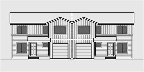 duplex house plans with garage duplex house plans duplex plans with garages together d 597