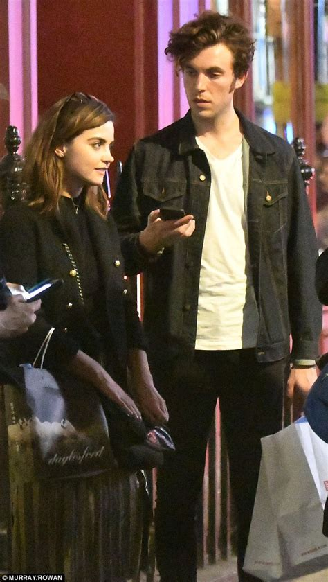 tom hughes news jenna coleman steps out with victoria love interst tom
