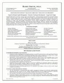 Executive Resume Example Sample Executive Resume Best Resume Sample