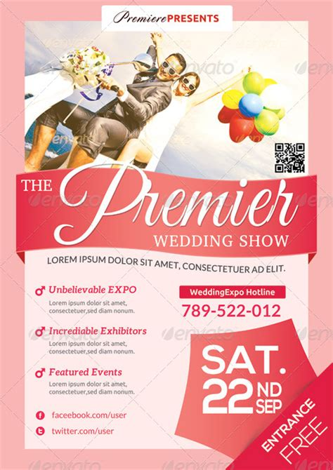 Expo Template Wedding Expo Show Flyer Template Ii By Katzeline