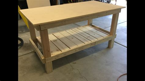 easy  build simple workbench youtube