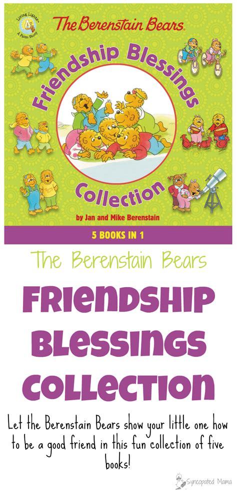 the berenstain bears blessings syncopated the berenstain bears friendship blessings