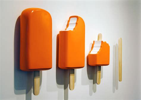 Long Island Soup Kitchen giant popsicles by tim berg food art eat me daily