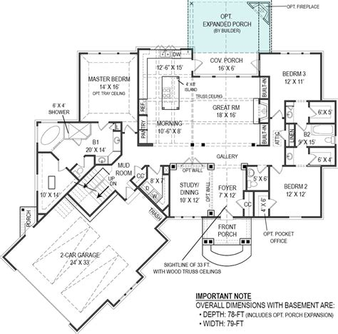 Featured House Plan Pbh 4510 Professional Builder | featured house plan pbh 4510 professional builder