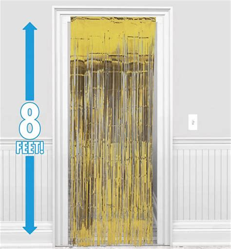 gold door curtain congrats grad yellow graduation party supplies party city