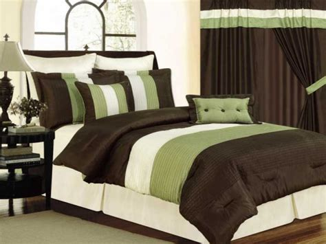 brown bedding sets nice presence green and brown bedding sets atzine com