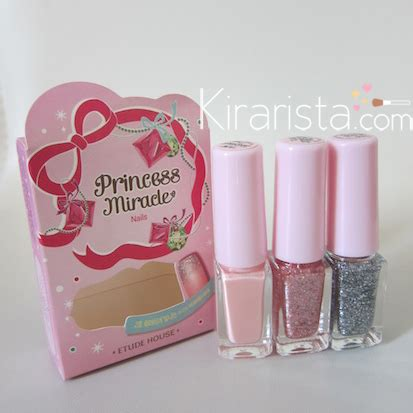 Etude House Dear My Blooming Talk Miracle 2 Holliday 1 etude house princess miracle eye nail swatch