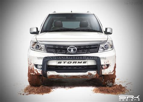 the all new tata safari 2015 the best 4x4 suv for indian tata safari storme facelift iab rendering