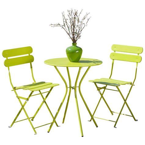 patio sol rst brands sol green 3 patio bistro set op bs3 sol