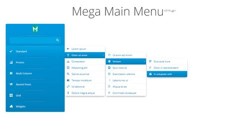 wordpress menu layout plugin mega main menu wordpress menu plugin by megamain