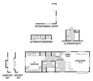 floor plan model skyline park model 1921cta 3412 floorplan from country land and homes real estate