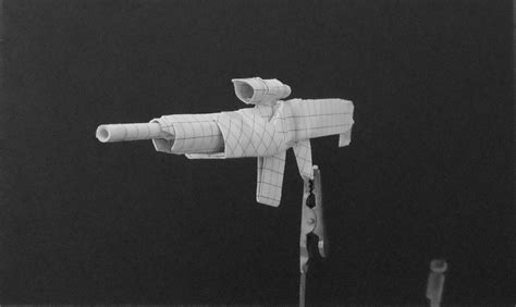 Origami Guns - origami guns assault rifle by solidmark on deviantart